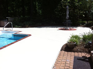 Paint Concrete Pool Deck Henderson Wallcovering Amp Painting