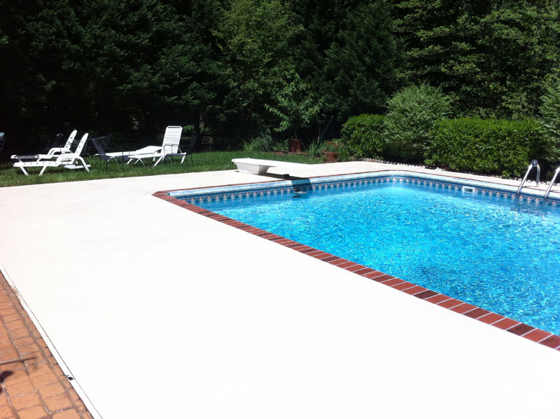 Images Of Pool Deck Paint